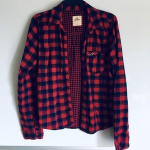 💫5 for $20❗️Hollister Flannel